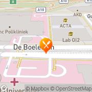Kaart Marion BV Brasserie Amsterdam, Nederland