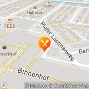 Kaart New Peking City Amstelveen, Nederland