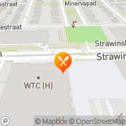 Kaart Eetwinkel Zwaan Amsterdam, Nederland