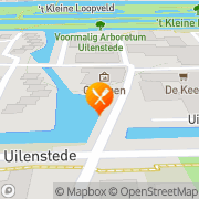 Kaart Uilenstede Café Restaurant Amstelveen, Nederland