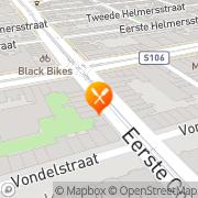 Kaart Toto Trattoria Amsterdam, Nederland