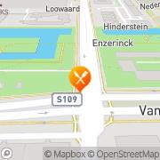 Kaart Halvemaan Restaurant Amsterdam, Nederland