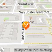 Kaart Indonesisch Restaurant Meester Cornelis Amsterdam, Nederland