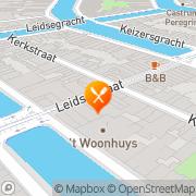 Kaart Piccole la Roma Amsterdam, Nederland
