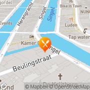 Kaart Restaurant Casa di David Amsterdam, Nederland