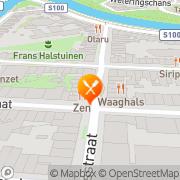 Kaart Japans Delicatessenhuis Zen Amsterdam, Nederland