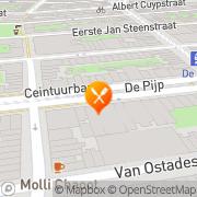 Kaart Wok Culinair Restaurant Amsterdam, Nederland