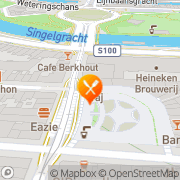 Kaart Taj Mahal Indian Restaurant Amsterdam, Nederland