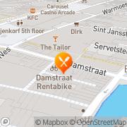 Kaart Sukasari Indonesisch Restaurant Amsterdam, Nederland