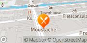 Map Bar Moustache Amsterdam, Netherlands