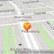 Kaart Phukradung Amsterdam, Nederland