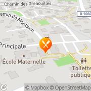 Carte de S.I.P. S.A. - Sérigraphie Industrielle et Publicitaire Mionnay, France