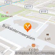 Kaart Wok King Restaurant Amsterdam, Nederland