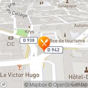 Carte de Ducros SA Carpentras, France