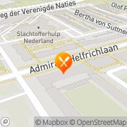 Kaart Oriënt Chinees-Indisch Restaurant Utrecht, Nederland
