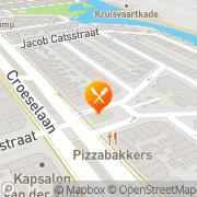 Kaart Peking Chinees-Indisch Afhaalcentrum Utrecht, Nederland