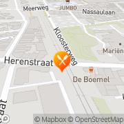 Kaart El Verano Bussum, Nederland