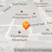 Kaart Heerenplein Restaurant Hilversum, Nederland