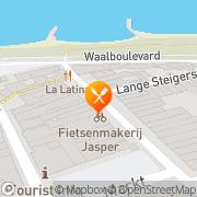 Kaart Chinees-Ind Kantonees Rest Quo Ching Zaltbommel, Nederland