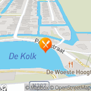 Kaart Woeste Hoogte De Bovenkarspel, Nederland