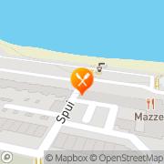 Kaart Akropolis Grieks Restaurant Huizen, Nederland