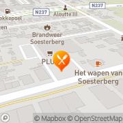 Kaart Tuin Pannekoekhuis De Soesterberg, Nederland