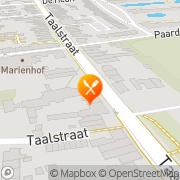 Kaart DieTwee Culinair Café Vught, Nederland