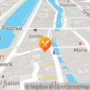 Kaart Restaurant Eetcafé De Nar 's-Hertogenbosch, Nederland