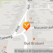 Kaart Amon Shoarma-Pizzeria Eersel, Nederland