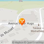 Carte de JURAPAIN SA Tavaux, France