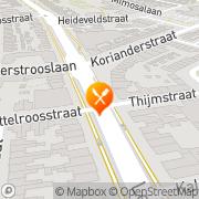Kaart Man Kwok Chinees-Indisch Restaurant Eindhoven, Nederland