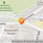Kaart Vendel Gasterij De Veenendaal, Nederland