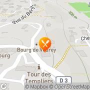 Carte de S.I.C.N. S.A. - Société Industrielle de Combustibles Nucléaires Veurey-Voroize, France