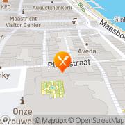 Kaart Plenkske Restaurant 't Maastricht, Nederland