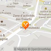 Carte de S.N.A.A.M. S.A. - Société Nouvelle des Armatures Assemblées Mure Échirolles, France
