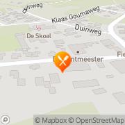 Kaart San Remo Nes, Nederland