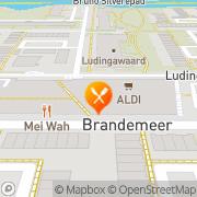 Kaart Mei Wah Wokplaza Chinees Restaurant Leeuwarden, Nederland