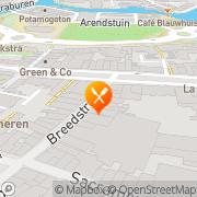 Kaart Siam Wok Leeuwarden, Nederland