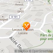 Carte de S.E.D.A. S.A. - Société d'Equipement du Département de l'Ain Bellegarde-sur-Valserine, France