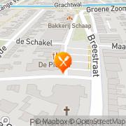 Kaart Hart van Marknesse Het Marknesse, Nederland