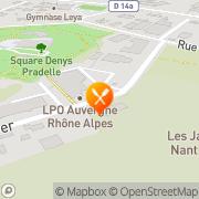 Carte de AU BON PAIN S A La Motte-Servolex, France