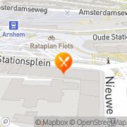 Kaart Haarhuis Brasserie/Restaurant Arnhem, Nederland