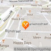 Kaart La Puerta Arnhem, Nederland