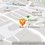 Carte de V.B.S. Diffusion S.A.R.L. Chambéry, France