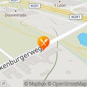 Kaart Geleenhof Brasserie Heerlen, Nederland
