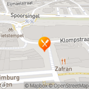 Kaart Vlaanderen Restaurant Heerlen, Nederland