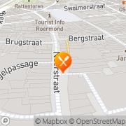 Kaart Avenance Restaurant Roermond, Nederland