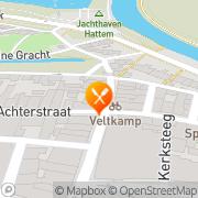 Kaart Hattems Stekkie 't Hattem, Nederland