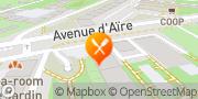 Carte de Restaurant La Tentation Genève, Suisse