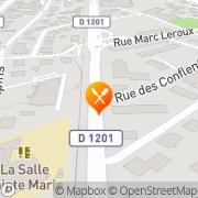 Carte de S.E.D. Haute Savoie S.A. - Société d'Equipements du Département de Haute Sav Brogny, France